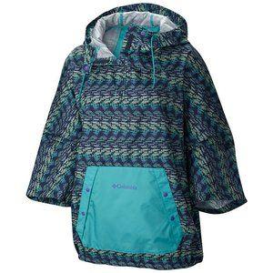 Columbia Flash Forward Anorak Poncho Rain Jacket